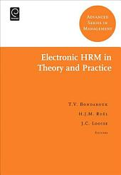 Electronic HRM in Theory and Practice