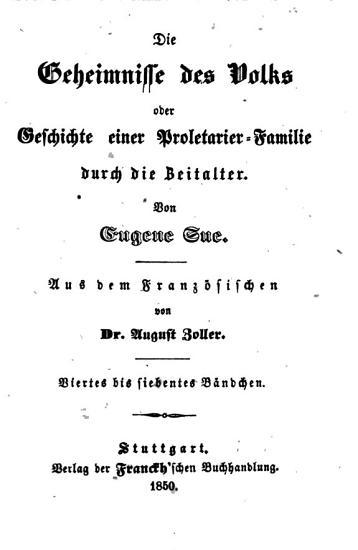 Die Geheimnisse des Volks oder Geschichte einer Proletarier Familie durch die Zeitalter PDF