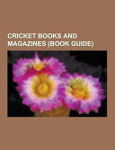 Cricket Books and Magazines