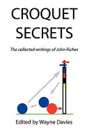 Croquet Secrets