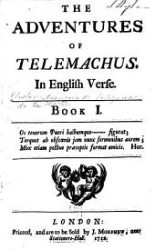 The Adventures of Telemachus: In English Verse. , Book 1