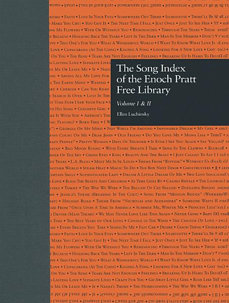 Download The Song Index of the Enoch Pratt Free Library Book