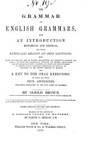 The Grammar of English Grammars  with an Introduction  Historical and Critical PDF