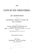 The Faith of Our Forefathers PDF