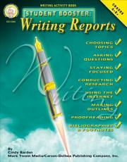 Student Booster  Writing Reports  Grades 4   8 PDF