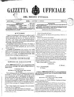 Gazzetta ufficiale del Regno d Italia PDF