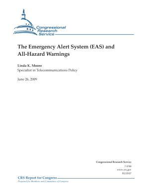 Emergency Alert System  EAS  and All Hazard Warnings