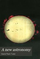 A New Astronomy PDF