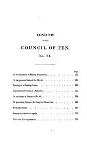 The Council of ten [ed. and mainly written by J.S. Boone].