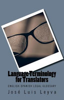 Legal Terminology for Translators