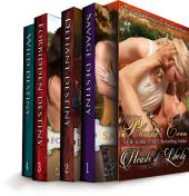 The Hearts of Liberty (Four Complete Historical Romance Novels in One)