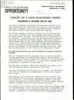 Concept of a Child Development Center PDF