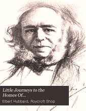 Little Journeys to the Homes Of...: Great philosophers