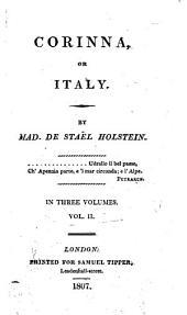 Corinna, Or, Italy: Volume 2