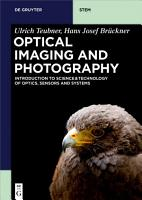 Optical Imaging and Photography PDF