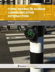 Turn taking in human communicative interaction PDF