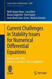 Current Challenges in Stability Issues for Numerical Differential Equations: Cetraro, Italy 2011, Editors: Luca Dieci, Nicola Guglielmi