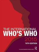 The International Who's Who 2015