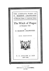 The Complete Works of F. Marion Crawford: Volume 17