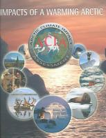 Impacts of a Warming Arctic   Arctic Climate Impact Assessment PDF