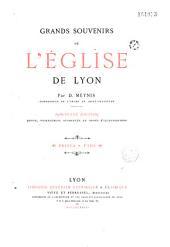 Grands souvenirs de l'église de Lyon