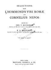 Selections from L'Hommond's Viri Romae and Cornelius Nepos