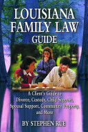 Louisiana Family Law Guide
