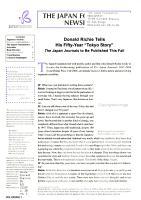 The Japan Foundation Newsletter PDF