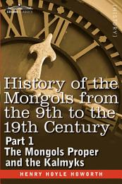 History of the Mongols from the 9th to the 19th Century