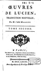 Oeuvres de Lucien: Volume2