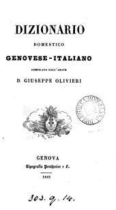 Dizionario domestico genovese-italiano
