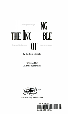 The Incredible Power of Fear PDF