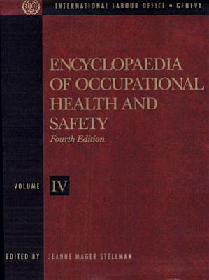 Encyclopaedia of Occupational Health and Safety PDF