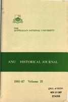 A N U  Historical Journal PDF