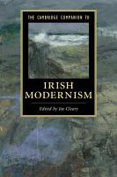The Cambridge Companion to Irish Modernism PDF