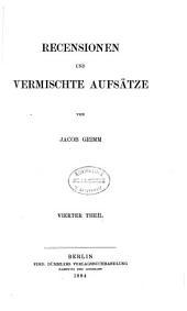 Kleinere Schriften: Band 7