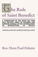 Commentary on the Rule of St  Benedict PDF