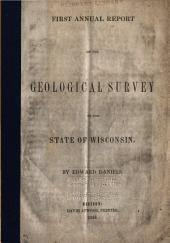 Annual Report on the Geological Survey of the State of Wisconsin: 1853