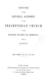 Minutes - United Presbyterian Church in the U.S.A.: Volume 6
