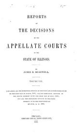 Reports of the Decisions of the Appellate Courts of the State of Illinois: Volume 8