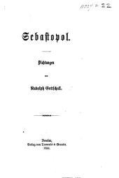 Sebastopol. Dichtungen