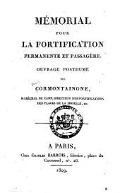 Mémorial pour la fortification permanente et passagère