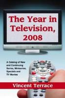 The Year in Television  2008 PDF