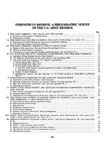 Strength in Reserve PDF
