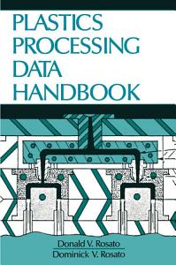 Plastics Processing Data Handbook PDF