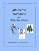 A Year Down Yonder Interactive Notebook Book PDF