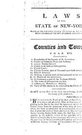 Laws of the state of New-York: vol. III-VI. Containing all the acts passed from the Revision of 1801, to the end of the [34th and 35th sessions] ... of the Legislature, 1804-12, Volume 3
