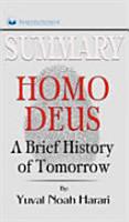 Summary of Homo Deus PDF