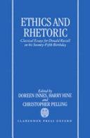 Ethics and Rhetoric