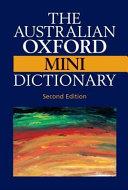 The Australian Oxford Mini Dictionary PDF